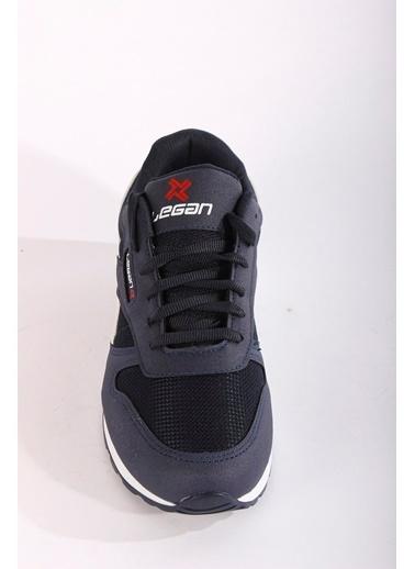 Rodrigo Erkek Siyah Comfort Spor Ayakkabı Lacivert